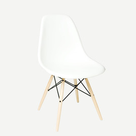 EAMES - EAMES DSW SIDE CHAIR WHITE