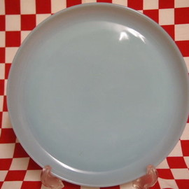 Fire King - Fire King Turquoise Blue Dinner Plate #32