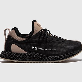 Y-3, adidas - Y-3 Runner 4D IO - Black/Trakha/Footwear White