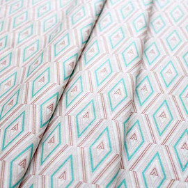 Art Gallery Fabrics - Etno Angle Inception Polar