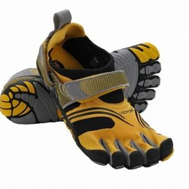 Viblam - Vibram Men's KMD SPORT Yellow Black Silver Grey