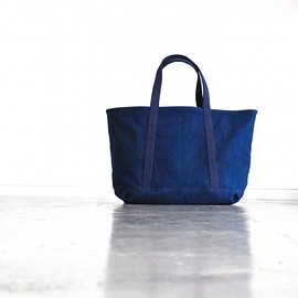 ARTS&CRAFTS - BASIC TOTE(#9 CANVAS INDIGO)