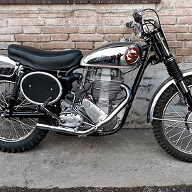 BSA - 1958 BSA Gold Star fuly restored by Silvano Bigna