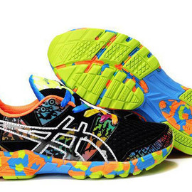 Mens Asics Gel Noosa TRI 8 Black Orange Shoes