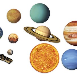 Learning Resources - Giant Magnetic Solar System マグネット式 太陽系