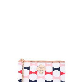 kate spade NEW YORK - abstract signature small flat pouch