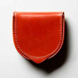 """Whitehouse Cox - Antique Bridle Leather"""" SMALLTRAYPURSE/コインケース"""