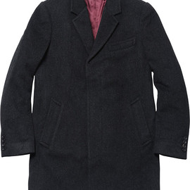 Supreme - wool overcoat