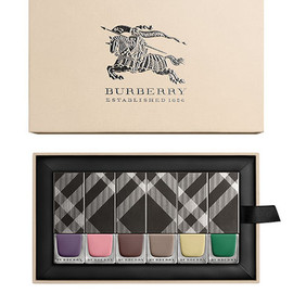 Burberry - S/S14 Runway Nail Collection