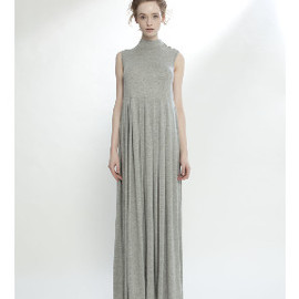 LONELY HEARTS - LH LIBERTINE DRESS W CROSSOVER GREY MARL