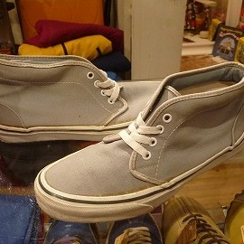 "vans - 「<used>80-90's vans CHUKKA BOOT grey""made in USA"" size:US9(27cm) 15800yen」完売"