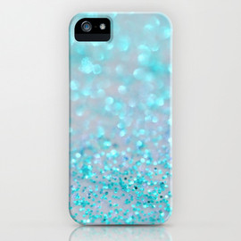 Society6 - Sweetly Aqua iPhone & iPod Case