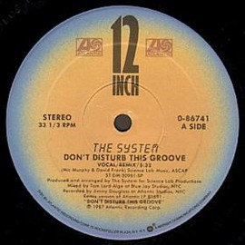 The System - Don't Disturb This Groove - 12inch