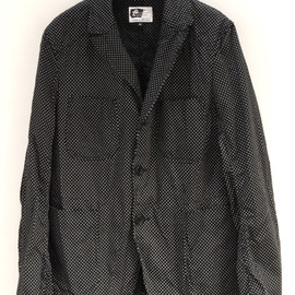 Engineered Garments - Bedford Jacket-Twill Polka Dot