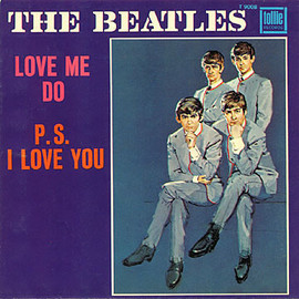 """The Beatles - Love Me Do / P.S. I Love You 7"""", US Tollie T-9008"""