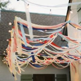ribbon canopy