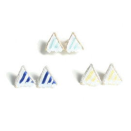 patterie - PRISM STRIPE PIERCE / EARRING