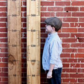 LittleAcornsByRo - METRIC Growth Chart Ruler