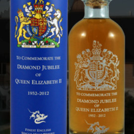 The English Whisky (St. George's Distillery) - The English Whisky Diamond Jubilee