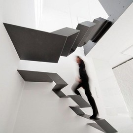 Schlosser + Partner - S.N.A.K.E / buro loft float stair
