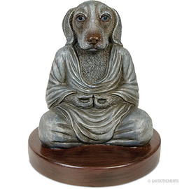 Accoutrements - Dog Buddha Statue