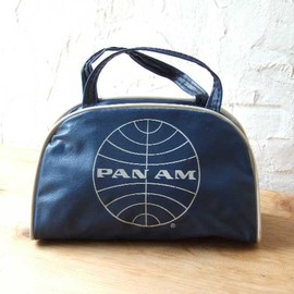 panam - vintage mini airline bag