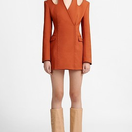 Dion Lee - HALTER TIE BLAZER DRESS