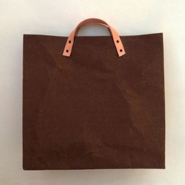 Belltastudio - Choco Shopping Kraft paper bag big size market