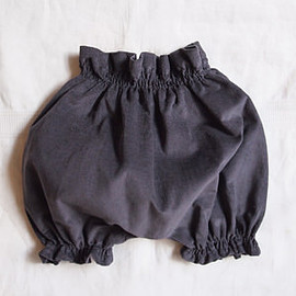 MAKIE - Corduroy Bloomers / Grayish Blue