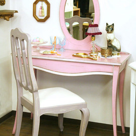 kino - Pink Extension Dresser