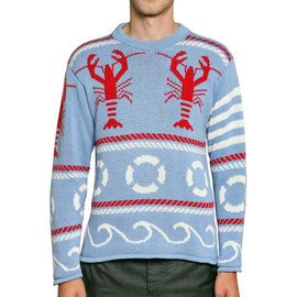 THOM BROWNE - 2013SS lobster knit