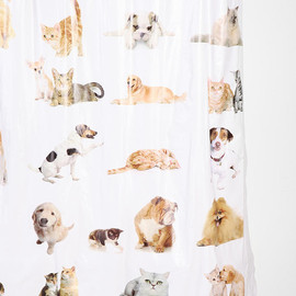 urban outfitters - Cats And Dogs Shower Curtain