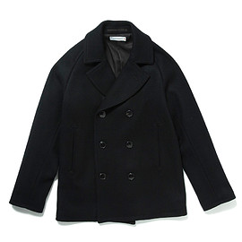 HEAD PORTER PLUS - PEA COAT BLACK