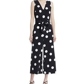 Karl Lagerfeld Paris - Polka Dot Jumpsuit ジャンプスーツ - sized 0