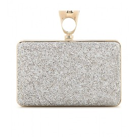 TOM FORD - Micro Rock embellished box clutch