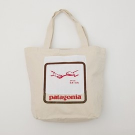 patagonia×PASS THE BATON - patagonia×PASS THE BATON Remake Bag natural