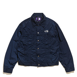 THE NORTH FACE PURPLE LABEL - Mountain Typewriter Field Jacket-Navy