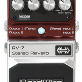 HardWire - RV-7 Stereo Reverb