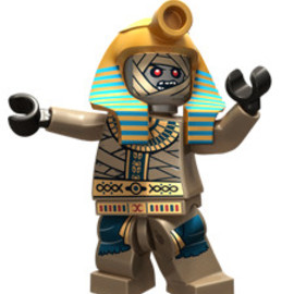 Lego - The Pharaoh - King of the Mummies Minifigure