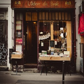 Paris - L'odeur du book