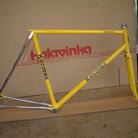 Kalavinka, 迦陵頻伽 - Keirin Pro (Customer-Ichikura) Custom Frame Build (競輪/NJS認定