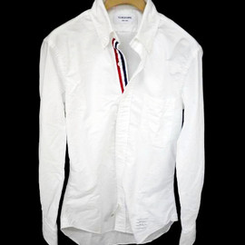 Round Collar Oxford Shirt