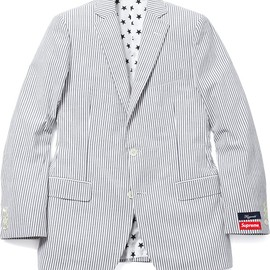 Supreme, Brooks Brothers - Brooks Brothers®/Supreme Seersucker Suit & Bucket Hat