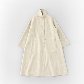 ARTS&SCIENCE - Stand Collar Trapeze Coat