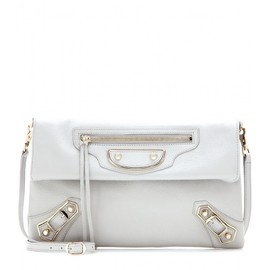 BALENCIAGA - Giant Envelope leather shoulder bag