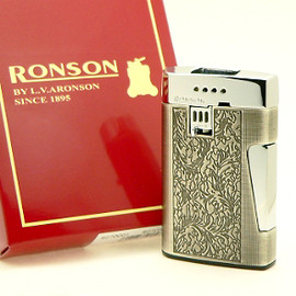 RONSON - 'Comet' Arabesque - Cigarette Lighter