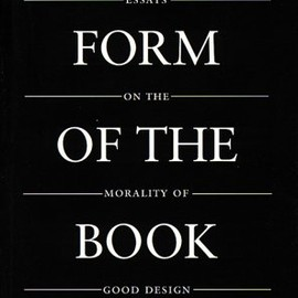 Form of the book book