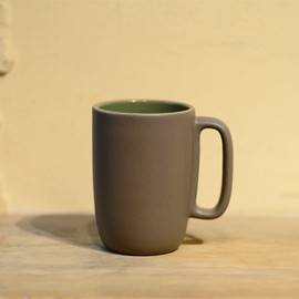 HEATH CERAMICS - Large Mug-Verde Cocoa