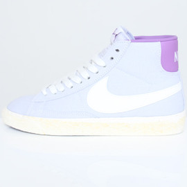 nike - Nike Wmns Blazer High Vintage ND Palest Purple 512709 515