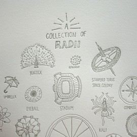 A Collection of Radii